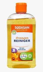Универсальное органическое моющее средство-концентрат SODASAN Orange 0,5 л. для удаления стойких и жирных загр