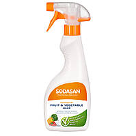 Органическое средство SODASAN для мытья овощей и фруктов 0.5 л