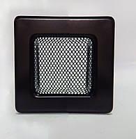 Решетка каминная крашенная 11х11 см