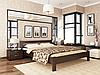 Деревянная односпальная полуторная двуспальная кровать Афина Estella