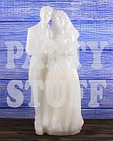 Свеча свадебная Жених и Невеста большая, 32 х 14 см.