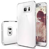 Чехол силиконовый Ультратонкий Epik для Samsung Galaxy S6 Edge Plus G928 Прозрачный