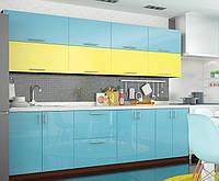 Кухня Колор-микс (МДФ крашеный), фото 1