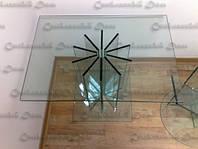 """Журнальный столик из стекла""""Радиаторный"""", фото 1"""