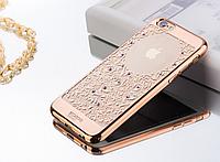"""Чехол силиконовый Beckberg Monsoon Sounds of Nature для iPhone 6/6S (4,7"""") Gold"""