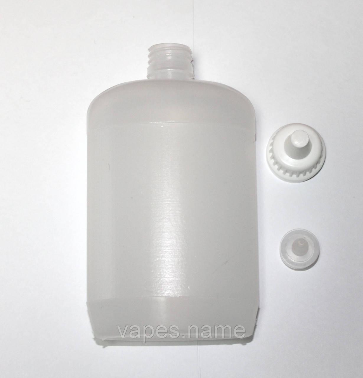Флакон полимерный со вставкой и коническим колпачком, 200мл