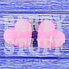 Романтические свечи сердца Розовые, 5х5 см (2 шт)