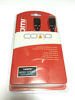 55-0506-10. Шнур HDMI с фильтром в блистере 10м чёрный