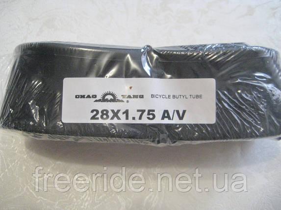 Вело Камера ChaoYang 28 х1.75 A/V, фото 2