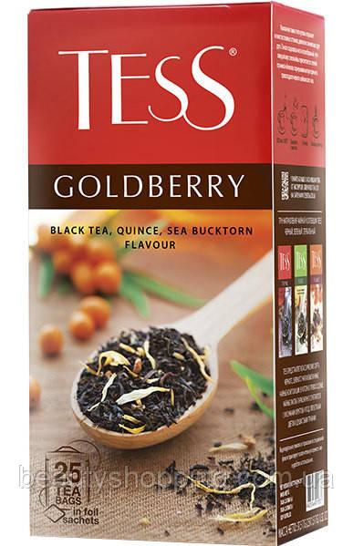 Чай Tess Goldberry (Голдбэри) 25 пакетиків