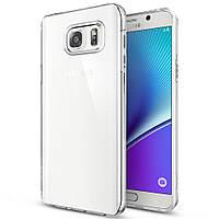 Чехол силиконовый Ультратонкий Epik для Samsung Galaxy Note 5 N920 Прозрачный