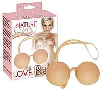 Вагинальные шарики Nature Skin Love Balls от Orion