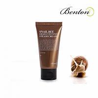 Benton Snail Bee Hiqh Content Steam Cream - Крем с высоким содержанием муцина улитки и пчелиным ядом, 50 мл