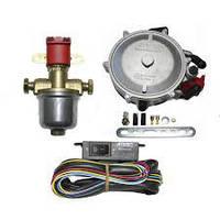 Миникит atiker 90 квт (120 л.с.) с эмк газа, переключателем, электронный пропан-бутан