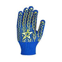 Перчатки Doloni (звезда, синие)