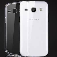 Чехол силиконовый Ультратонкий Epik для Samsung G350 Galaxy Star Advance Прозрачный