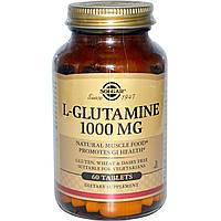 Solgar, L-глютамин 60 таблеток
