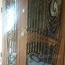 Входная дверь модель 1500мм 594 vinorit-90 КОВКИ, фото 3