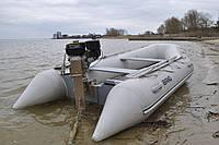 Мотор лодочный болотоход