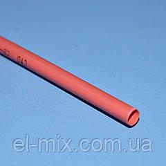 Трубка термоусадочна D3.5/d1.75 червона VW-1 NAR0256