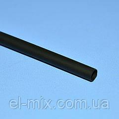 Трубка термоусадочна D3.5/d1.75 чорна VW-1 NAR0246