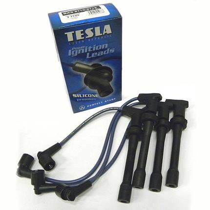 Провода высоковольтные Tesla ВАЗ НИВА 2121 1.6, МОСКВИЧ 1.6 двигатель, ВАЗ 2106 п/силикон TS T340H, фото 2