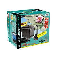 Фильтр прудовый Aquael KlarJet 10000, проточный в пруд до 10000 л (102592 /2200)+Доставка бесплатно