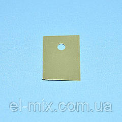 Прокладка теплопроводящая под корпус TO-220 (силикон)  Китай / продажа кратно 10шт