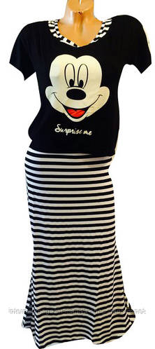 Платье женское Турция (платье +футболка)