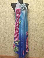 Туника-трансформер 901, Колибри ,цв.сине-розовый