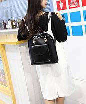 Изящная сумка - рюкзак, трансформер, фото 2