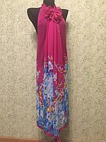 Туника-трансформер 901, Цветы ,цв.розовый 2