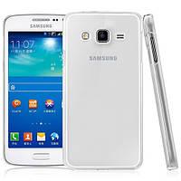 Чехол силиконовый Ультратонкий Epik для Samsung G7200 Galaxy Grand 3 Прозрачный