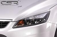 Реснички (накладки на фары) Ford Focus C307