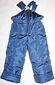 Зимний комбинезон +куртка 3-4 лет (натуральная опушка), фото 3