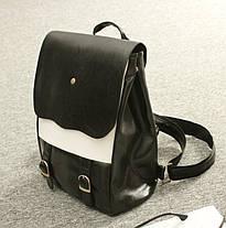 Оригинальный женский рюкзак со вставкой!, фото 2