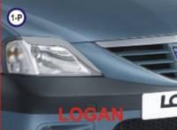 Реснички для фар Renault Logan 2004-2007