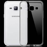 Чехол силиконовый Ультратонкий Epik для Samsung Galaxy J1 J100 Прозрачный