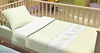 Сменный постельный комплект в кроватку Baby Bear (Бежевый), Top Dreams