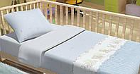 Сменный постельный комплект в кроватку Baby Bear (Голубой), Top Dreams