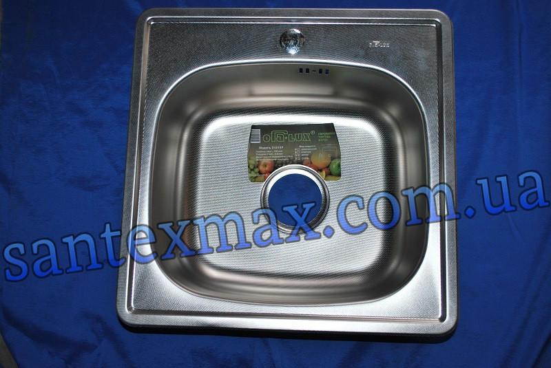 Мойка для кухни OraLux D4848P полиш