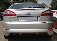 Накладка заднего бампера Ford Mondeo Hb, Sedan с диффузором