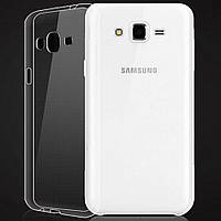 Чехол силиконовый Ультратонкий Epik для Samsung Galaxy J2 J200 Прозрачный