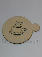 "Подставки под чашку, стакан ""Чай""  диаметр 100 мм"