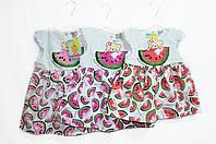 Платье детское летнее легкое. Рост 74, 80, 86, 92. Bodrik 530