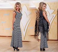 Женское длинное платье ДГр7714