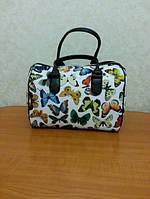 Оригинальная женская сумка-бочонок