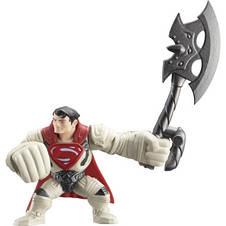 Супермен из фильма MAN OF STEEL (Человек из Стали), супергерой атакующий робота, фото 2