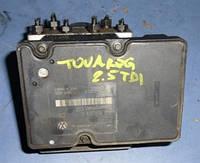 Блок ABS ESP -04VWTouareg 2.5 R5 tdi2002-20107L0907379C, 10092503213, 5WK84005, 7L0614111D, 10020402594