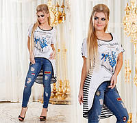 Женская модная туника ДГр7666